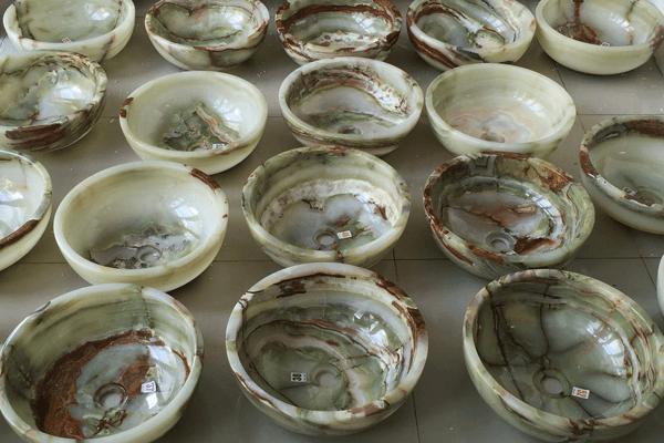 Lavabo đá onyx