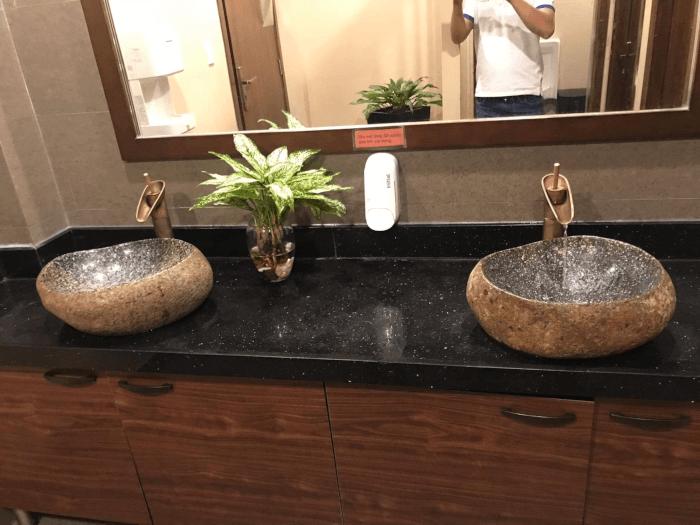 lavabo da tu nhien
