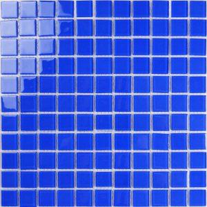 Gạch mosaic thủy tinh đơn màu 12