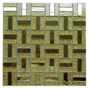 Gạch mosaic thủy tinh đơn màu 24