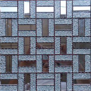 Gạch mosaic thủy tinh đơn màu 25