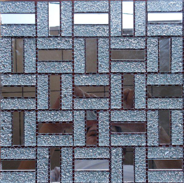 Gach mosaic thuy tinh don mau 25