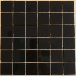 Gạch mosaic thủy tinh đơn màu 07