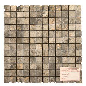 Mosaic đá tự nhiên 23×23 10