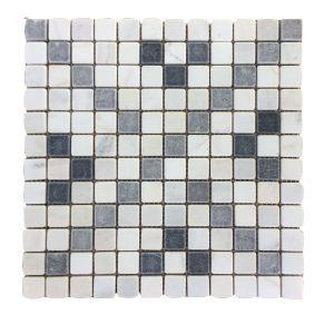 Mosaic đá tự nhiên 23×23 20