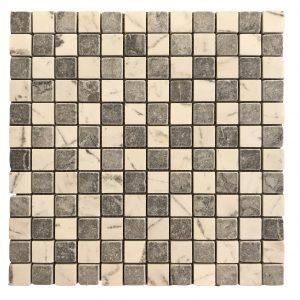 Mosaic đá tự nhiên 23×23 21