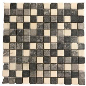 Mosaic đá tự nhiên 23×23 22