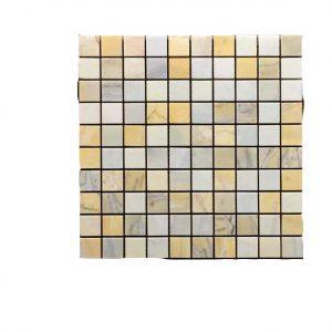 Mosaic đá tự nhiên 23×23 05