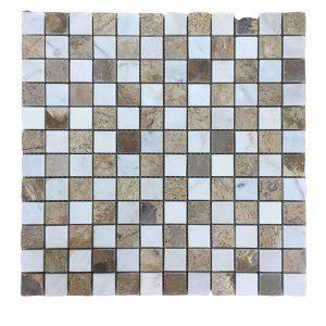 Mosaic đá tự nhiên 23×23 08