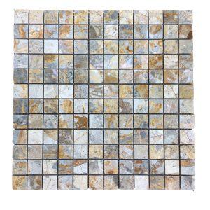 Mosaic đá tự nhiên 23×23 09