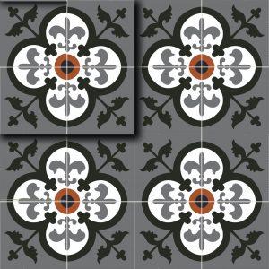 Gạch bông ceramic 30×30 12