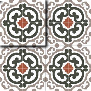Gạch bông ceramic 30×30 13