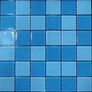 Gạch mosaic thủy tinh trộn màu 01