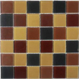 Gạch mosaic thủy tinh trộn màu 10