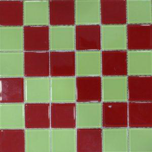 Gạch mosaic thủy tinh trộn màu 11