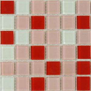 Gạch mosaic thủy tinh trộn màu 12