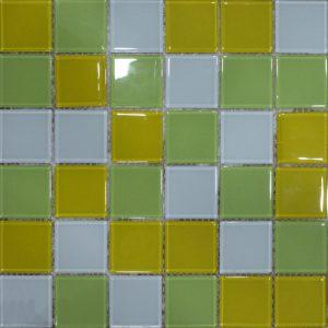 Gạch mosaic thủy tinh trộn màu 14