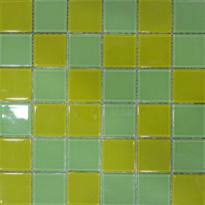 Gạch mosaic thủy tinh trộn màu 15