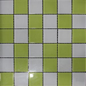 Gạch mosaic thủy tinh trộn màu 16