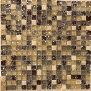 Gạch mosaic thủy tinh trộn màu 17