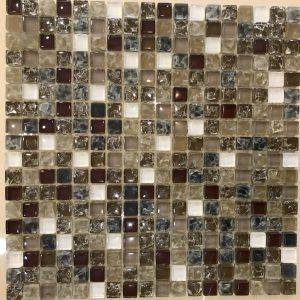 Gạch mosaic thủy tinh trộn màu 19