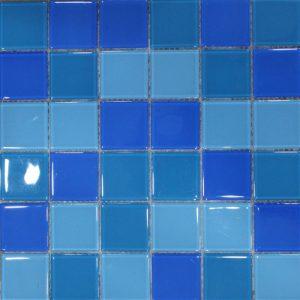 Gạch mosaic thủy tinh trộn màu 02