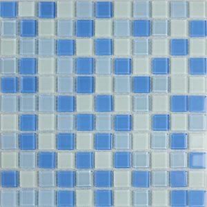 Gạch mosaic thủy tinh trộn màu 20