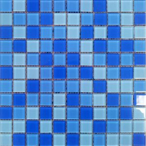 Gạch mosaic thủy tinh trộn màu 22