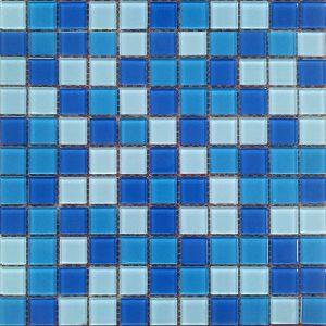 Gạch mosaic thủy tinh trộn màu 23