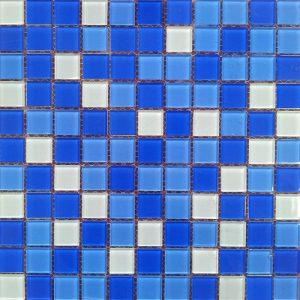 Gạch mosaic thủy tinh trộn màu 24