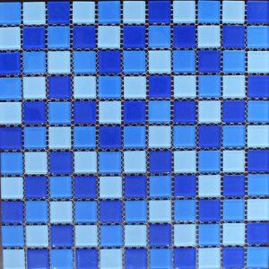 Gạch mosaic thủy tinh trộn màu 25