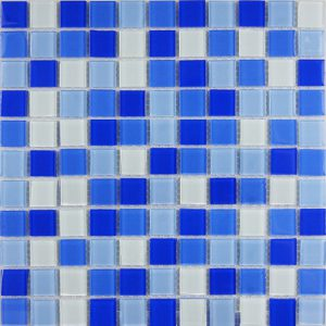 Gạch mosaic thủy tinh trộn màu 26