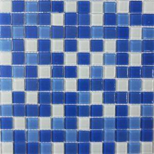 Gạch mosaic thủy tinh trộn màu 27