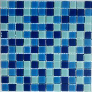 Gạch mosaic thủy tinh trộn màu 28