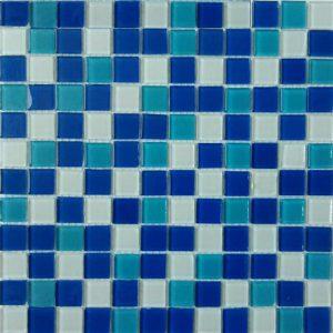 Gạch mosaic thủy tinh trộn màu 29