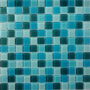 Gạch mosaic thủy tinh trộn màu 30