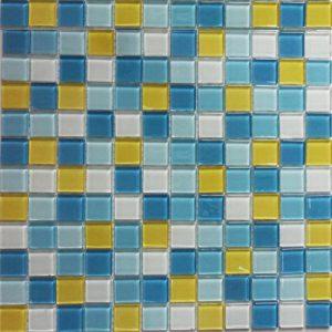 Gạch mosaic thủy tinh trộn màu 31
