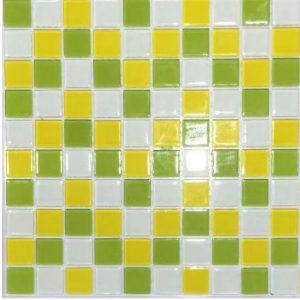 Gạch mosaic thủy tinh trộn màu 32