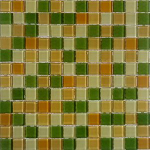 Gạch mosaic thủy tinh trộn màu 33