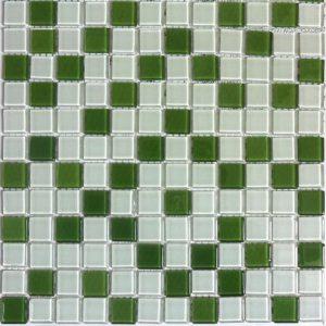 Gạch mosaic thủy tinh trộn màu 35