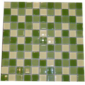 Gạch mosaic thủy tinh trộn màu 36