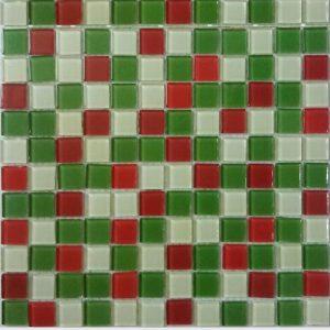 Gạch mosaic thủy tinh trộn màu 38