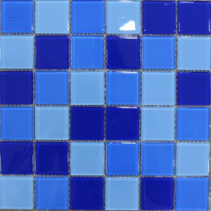 Gạch mosaic thủy tinh trộn màu 04