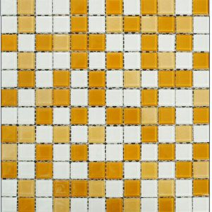 Gạch mosaic thủy tinh trộn màu 40