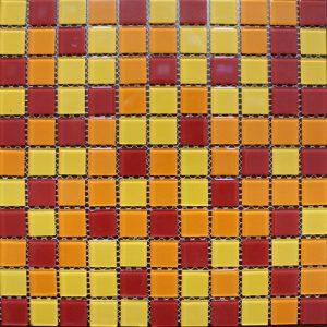 Gạch mosaic thủy tinh trộn màu 49