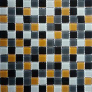 Gạch mosaic thủy tinh trộn màu 50