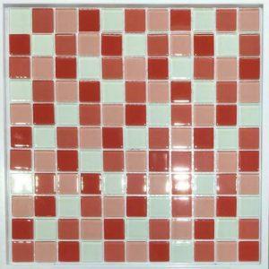 Gạch mosaic thủy tinh trộn màu 52