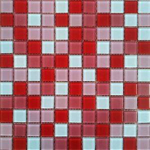 Gạch mosaic thủy tinh trộn màu 54