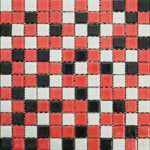 Gạch mosaic thủy tinh trộn màu 55