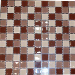 Gạch mosaic thủy tinh trộn màu 57